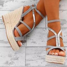 PU Tipo de tacón Sandalias Plataforma Cuñas Encaje con Otros zapatos