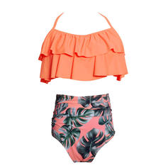 High Waist String Halter Cute Bikinis Swimsuits
