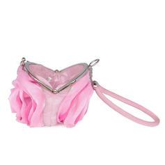 Μόδας Σατέν Συμπλέκτες/Νυφική τσάντα/Πορτοφόλια και βραχιολάκια