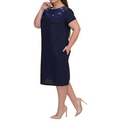 Floral/Solid Short Sleeves Bodycon Knee Length Casual/Elegant/Plus Size Dresses