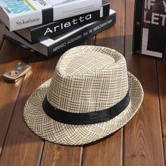 Hommes Le plus chaud Acrylique/Paille salée Chapeau de paille/Chapeaux de plage / soleil/Panama