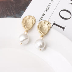 Stylish Alloy Imitation Pearls Women's Earrings