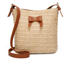 Delicate Straw Crossbody Bags/Shoulder Bags/Bucket Bags