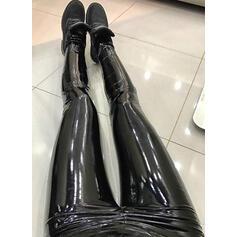 Solid Long Sexy Long Skinny Pants