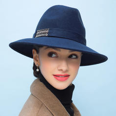 Ladies ' Moda Wełna Floppy Hat