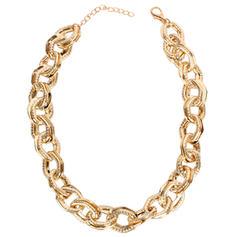 Unique Shining Alloy Necklaces