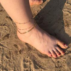 Ötvözet karkötő Strand ékszerek (3-as készlet)