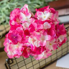 14'' Hortensias Soie Bouquets
