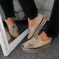 Dla kobiet PU Nieformalny na zewnątrz Z Stras/ Krysztal Górski obuwie