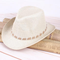Mannen Betoverend Zout stro Cowboyhoed/Kentucky Derby Hats