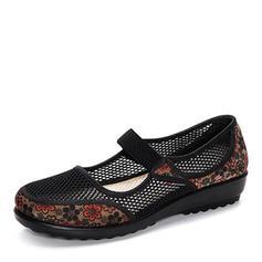 De mujer Tejido Tacón plano Planos zapatos