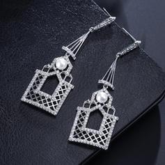 Unique Copper Women's Earrings