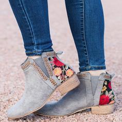 Dámské PU Široký podpatek Boty obuv