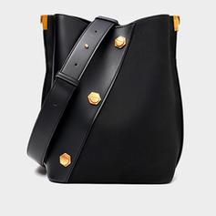 Charme/Elegante/Vintage Bolsas de lona/Bolsas Crossbody/Bolsa de Ombro/Balde Malas