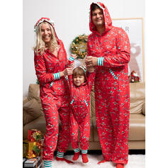 Striped Print Family Matching Pajamas