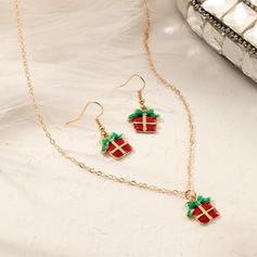 Uniek Schijnt Legering Sieraden Sets Kerst sieraden (Set van 2)