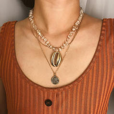 Fashionable Exquisite Alloy With Shell Necklaces