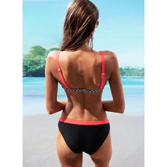 Stripe Low Waist Strap Sexy Bikinis Swimsuits