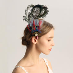 Ladies' Special/Glamourous/Elegant/Unique/Fancy/Romantic/Vintage/Artistic Feather Fascinators/Kentucky Derby Hats