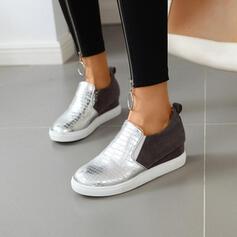 De mujer PU Casual al aire libre zapatos