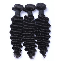 5A Deep Human Hair Human Hair Weave (Sold in a single piece) 50g
