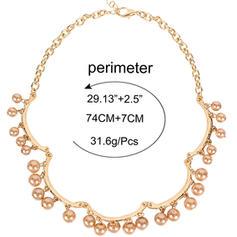 Unique Alliage avec Perle d'imitation Colliers