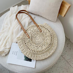 Braided Straw Beach Bags/Bucket Bags