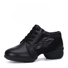 De mujer Zapatillas Entrenamiento Zapatillas Cuero de Microfibra Entrenamiento