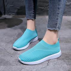 Femmes Tissu Tissu Décontractée De plein air avec Élastique chaussures