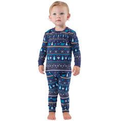 A Righe Stampa Famiglia Partita Di Natale Pajamas