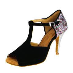 Women's Suede Latin Dance Shoes
