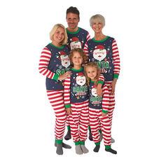 Santa Letter Striped Family Matching Christmas Pajamas