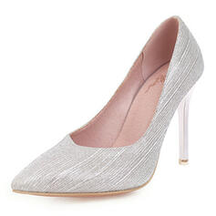 Women's PU Stiletto Heel Pumps With Sequin shoes