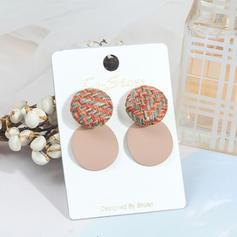 Stylish Cloth Alloy Women's Fashion Earrings (Sold in a single piece)