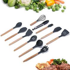 silicona madera Accesorios de herramientas de cocina