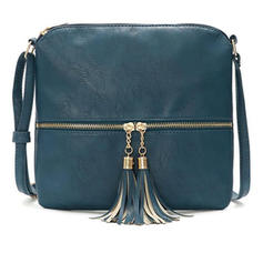 Commuting/Solid Color/Simple Crossbody Bags