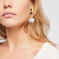 Hottest Fancy Alloy Imitation Pearls With Imitation Pearl Earrings