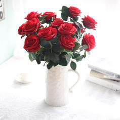 "17.72""(Approx.45cm) Rose Silk Bouquets"