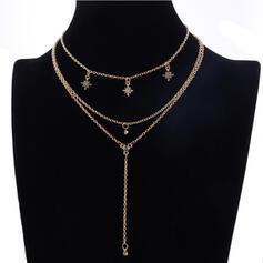 Unikátní Vynikající Stylový Slitina S Imitace perel Sady šperků Náhrdelníky Plážové šperky