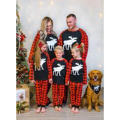 Renna Tartan Famiglia Partita Di Natale Pajamas