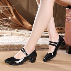 Women's Ballroom Character Shoes Heels Leatherette Latin