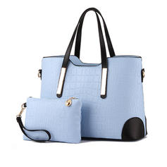 Elegant PU Tote Bags/Bag Sets/Wallets & Wristlets
