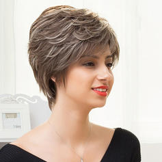 Straight Pixie Human Hair Wigs