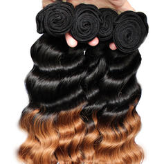 Loose Human Hair Human Hair Weave (Sold in a single piece)