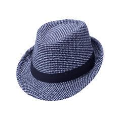 Pánské Nejžhavější Bavlna Fedora Hat/Kentucky Derby Klobouky