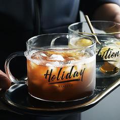Classic Simple Glass Coffee Mugs
