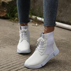 De mujer Tejido Casual al aire libre Atlético con Cordones zapatos