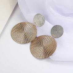 Unique Brillant Alliage Boucles d'oreilles (Lot de 2)