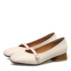 Femmes Similicuir Talon bottier avec Boucle chaussures