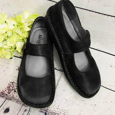 Femmes Velours Talon plat Chaussures plates avec Boucle chaussures